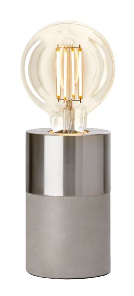 Athen Metal Satin Table Lamp