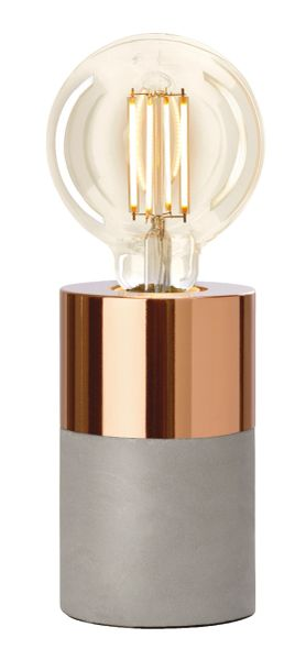 Athen Metal Copper Table Lamp