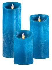 Real Wax LED Candle (Petrol)