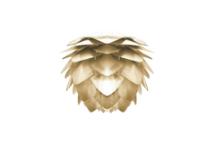 Silvia Shade Mini Brushed Brass