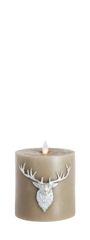 Real Wax LED Candle (Deer Motive)
