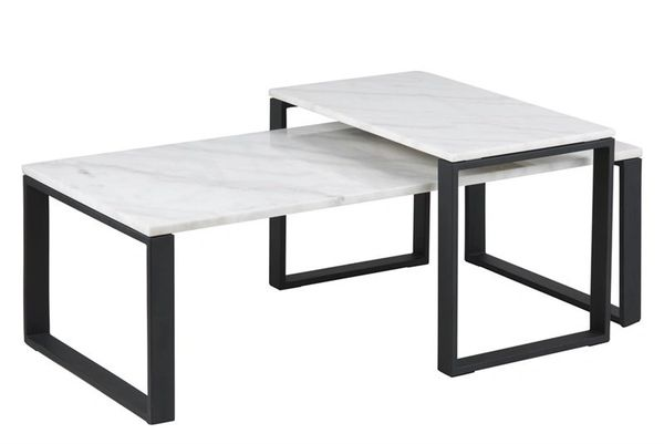 Fredericia Coffee Table Set Marble