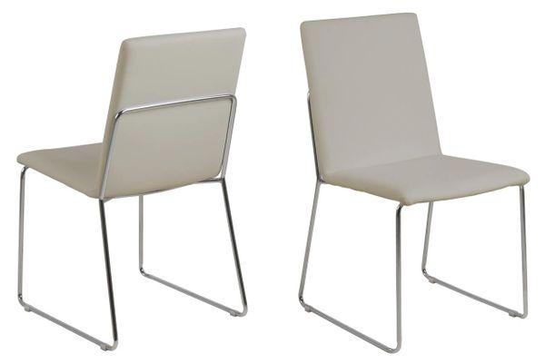 4 x Viborg Sand Dining Chairs
