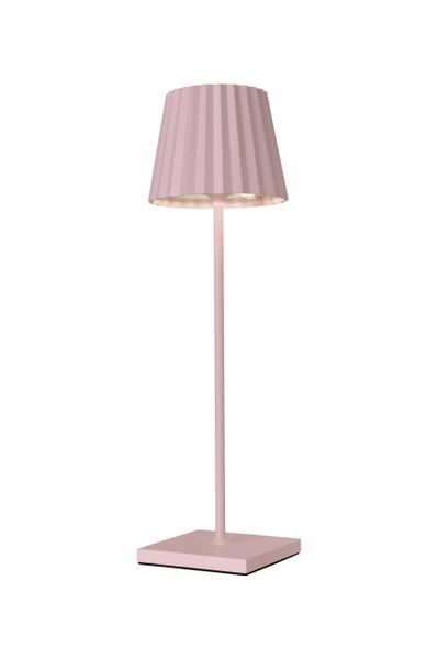 Daisy Table Lamp Soft Pink