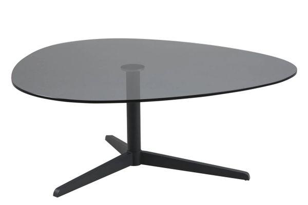Viborg Smoked Glass Top Coffee Table