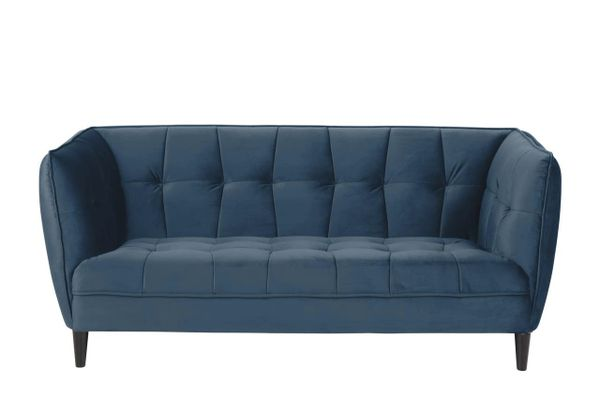 Gothenburg 2 seater sofa Navy Blue