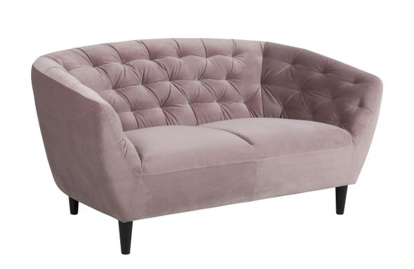 Bergen 2-Seater Sofa Dusty Rose