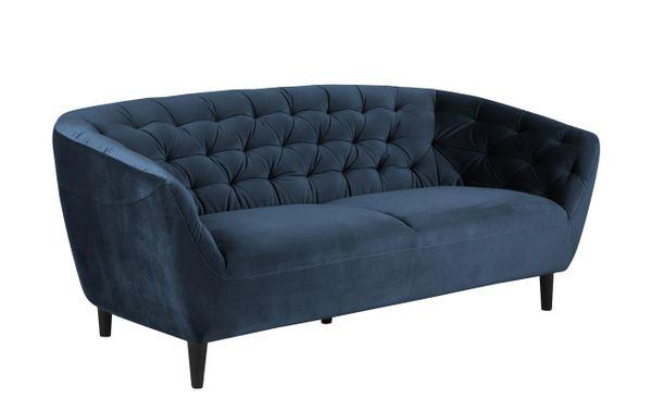 Bergen 3-Seater Sofa Navy Blue