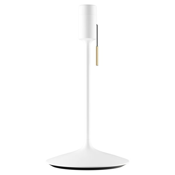 Champagne Table Stand White With USB Port