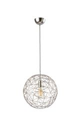 Ex Display Mesh Large Satin Pendant Lamp