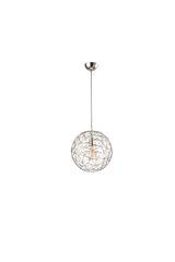 Ex Display Mesh Small Satin Pendant Lamp
