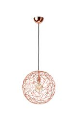 Ex Display Mesh Large Copper Pendant Lamp