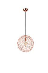 Ex Display Mesh Medium Copper Pendant Lamp