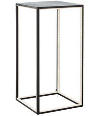 Ex Display Light Table Tall Black Alu Floor Lamp