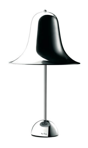 Verpan Pantop Table Lamp Chrome