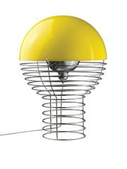 Wire Table Lamp Yellow