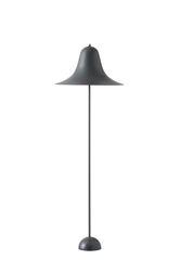 Verpan Pantop Floor Lamp Grey Metal