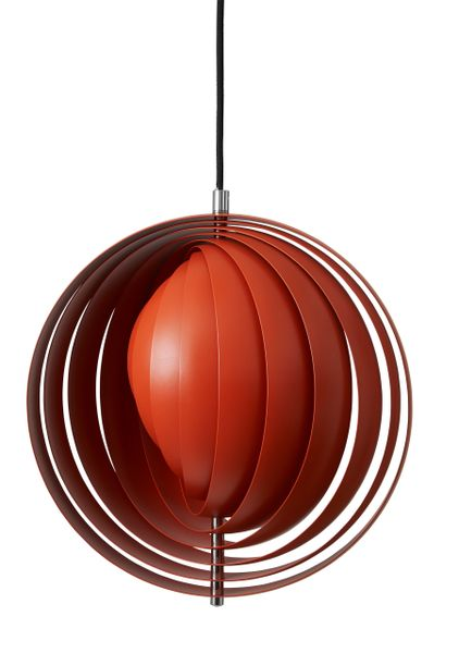 Verpan Moon Small Orange Pendant
