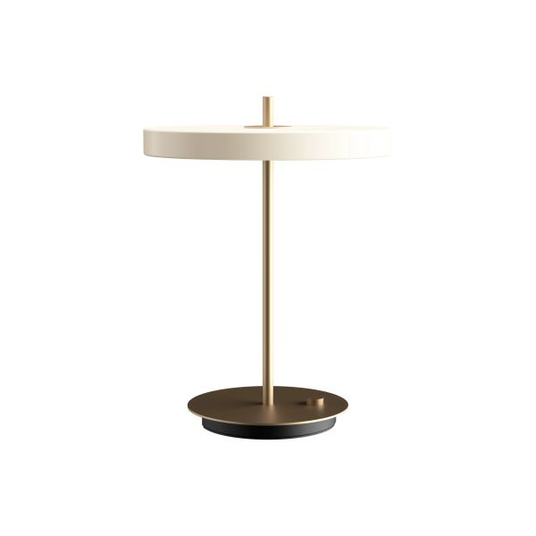 Asteria Table Lamp Pearl White