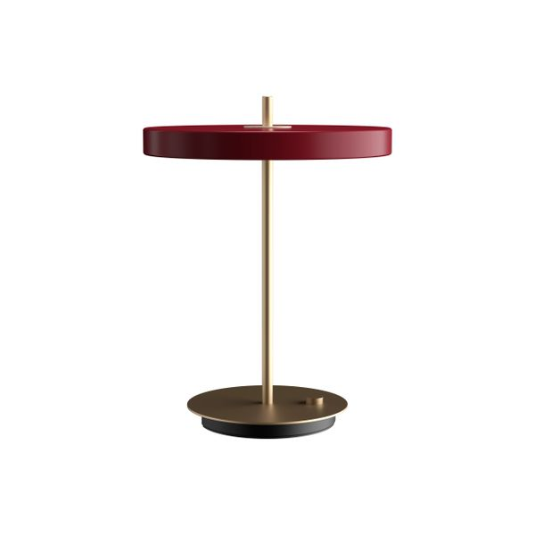 Asteria Table Lamp Ruby Red