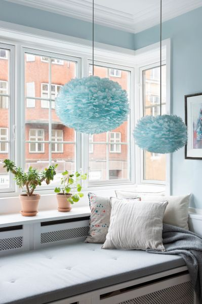 Eos Light Blue Lamp Shade