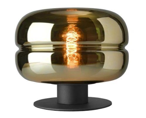 Havanna Table Lamp Gold Glass Small