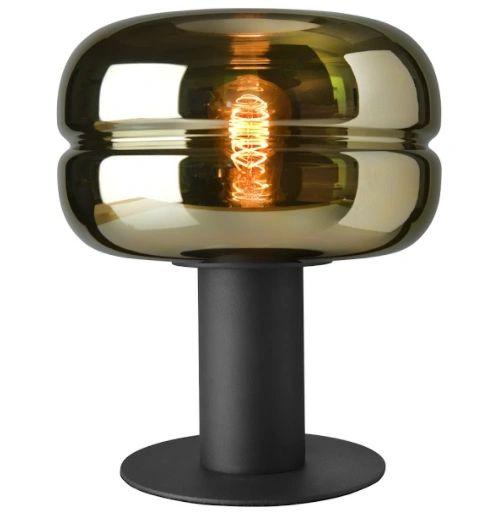 Havanna Table Lamp Gold Glass Large