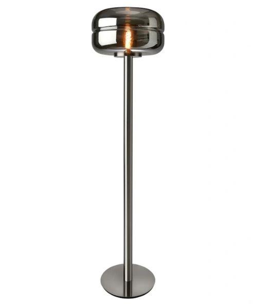 Havanna Floor Lamp Smoked Glass