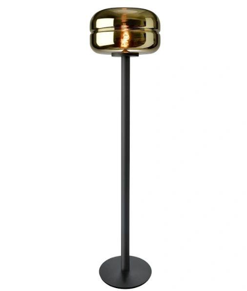 Havanna Floor Lamp Gold Glass
