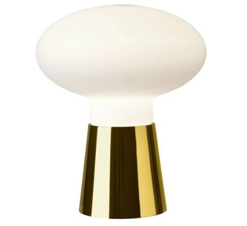 Bilbao Table Lamp Gold Small