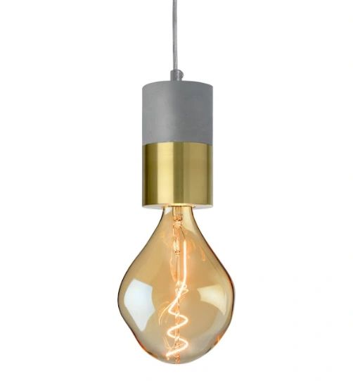 Athen Pendant Gold (bulb available separately)