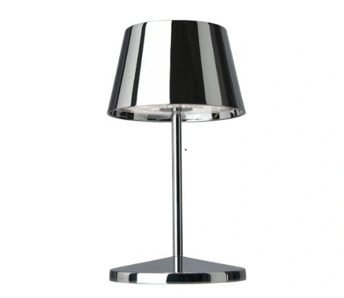 Seoul Rechargeable Table Lamp Chrome