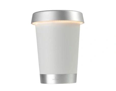 Bordeaux Rechargeable LED Wine Cooler White