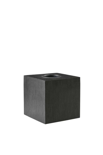 Cube Black Table Lamp