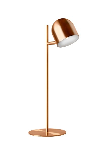 Dice Table Lamp Copper