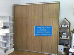 Ex Display Scandinavian Wardrobe in Oak Finish