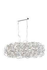 Mystic Large Pendant Lamp Aluminium