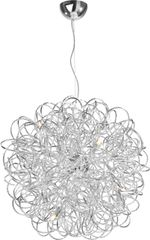 Mystic Medium Pendant Lamp Aluminium