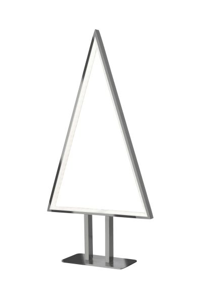 Fir Small Table Lamp Aluminium 50cm