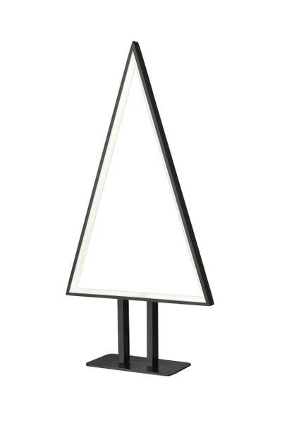 Fir Small Table Lamp Black 50cm
