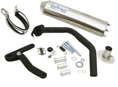LeoVince HM Titan Racing Exhaust for QMB139 50cc