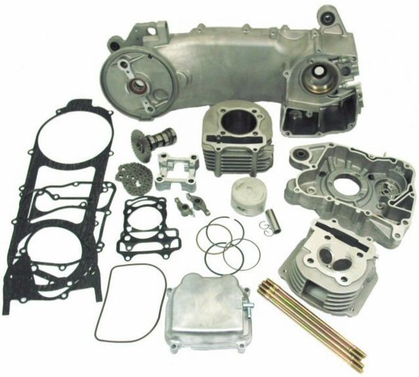 SSP-G 180cc Big Bore Power Kit for 150cc and 125cc 4-stroke GY6 Engines.