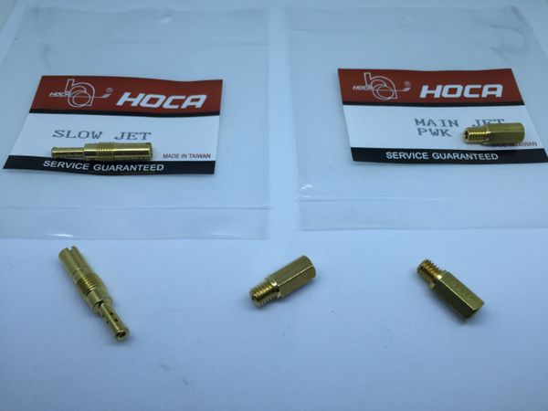 PWK Hoca main and idle Jets combo for Slide carburator