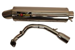 Ban Jing GY6 Performance Exhaust