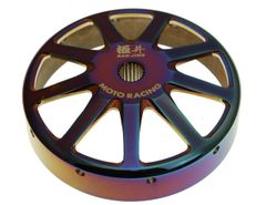 Ban Jing GY6 Titanium Coated Clutch Drum - 9 Spoke