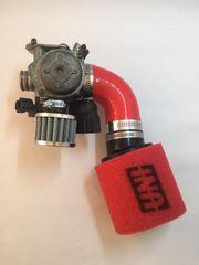 Honda Ruckus 49cc intake kit UNI nps50 NVK carburator metropolitan icebear gy6