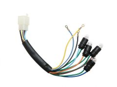 Universal Parts Speedometer Assembly Wiring Harness - 4 Bulb