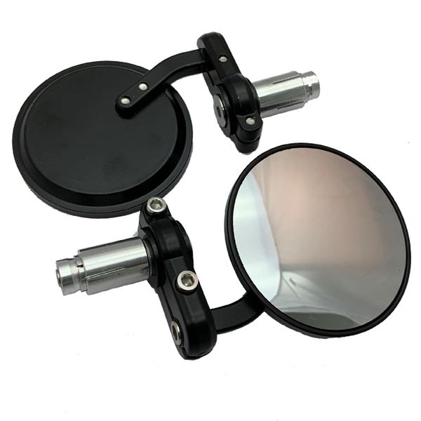 "Universal Parts 7/8"" Bar End Mirrors"
