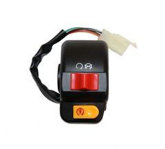 Universal Parts Right Handlebar Switch - 3 Pin