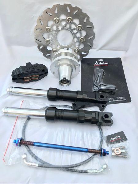 lower Front Disc brake kit for a Ruckus / Metropolitan